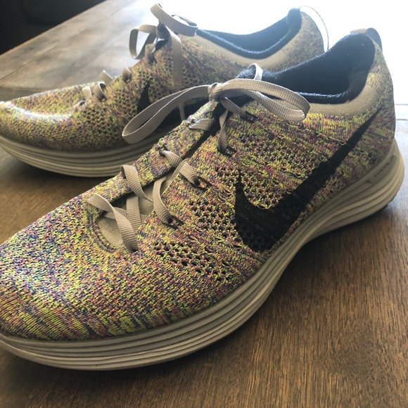 latest discount united kingdom online here Nike Flyknit Lunar 1 Multi-Color